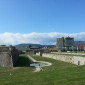 The city walls, Pamplona, Spain