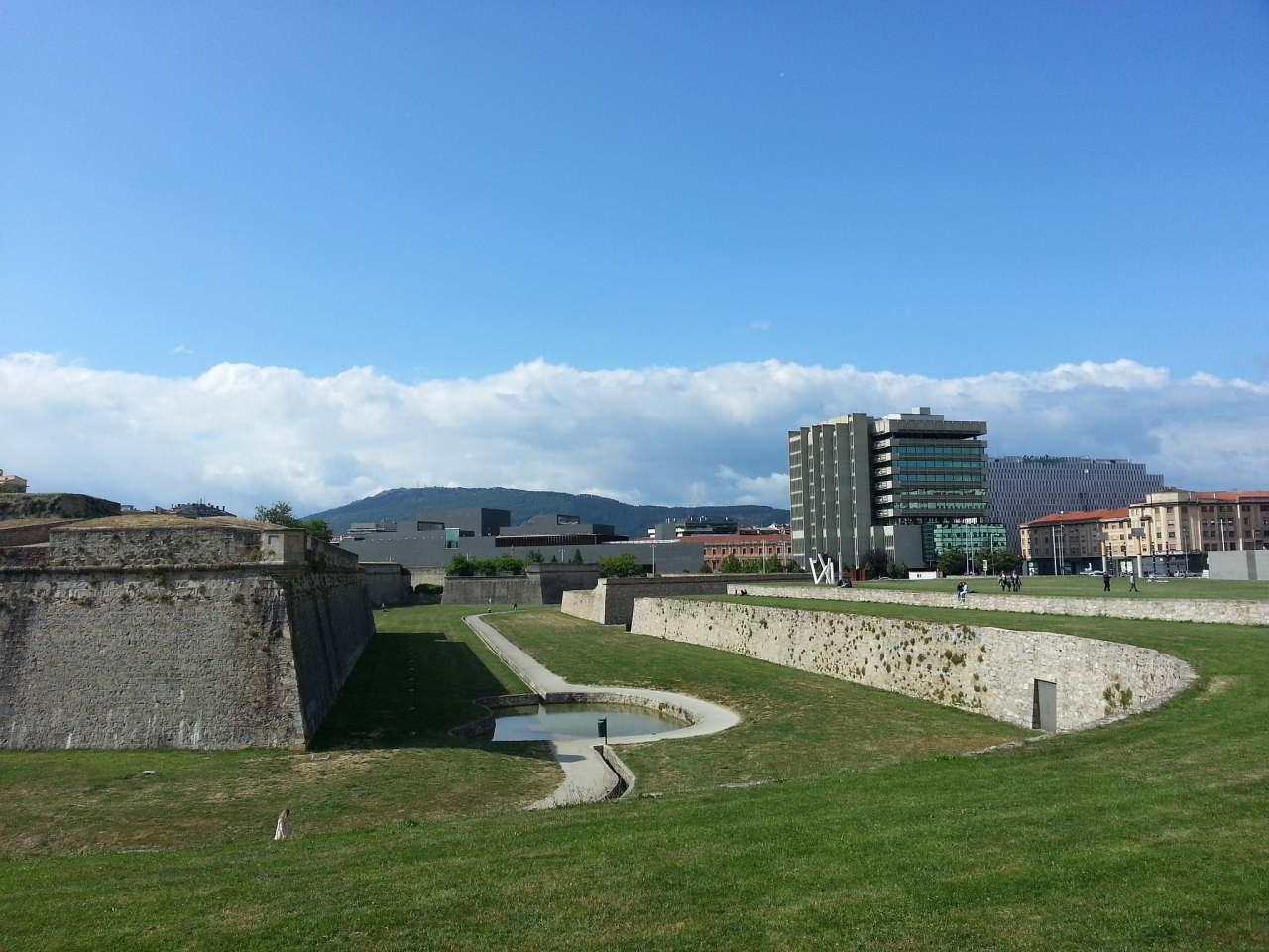 The city walls, Pamplona, Spain