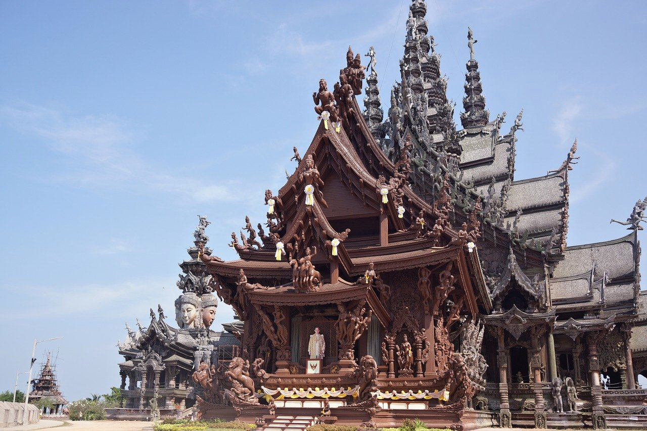 Sanctuary of truth, Pattaya, Thailand
