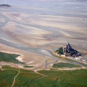 Baie du Mont St Michel, France