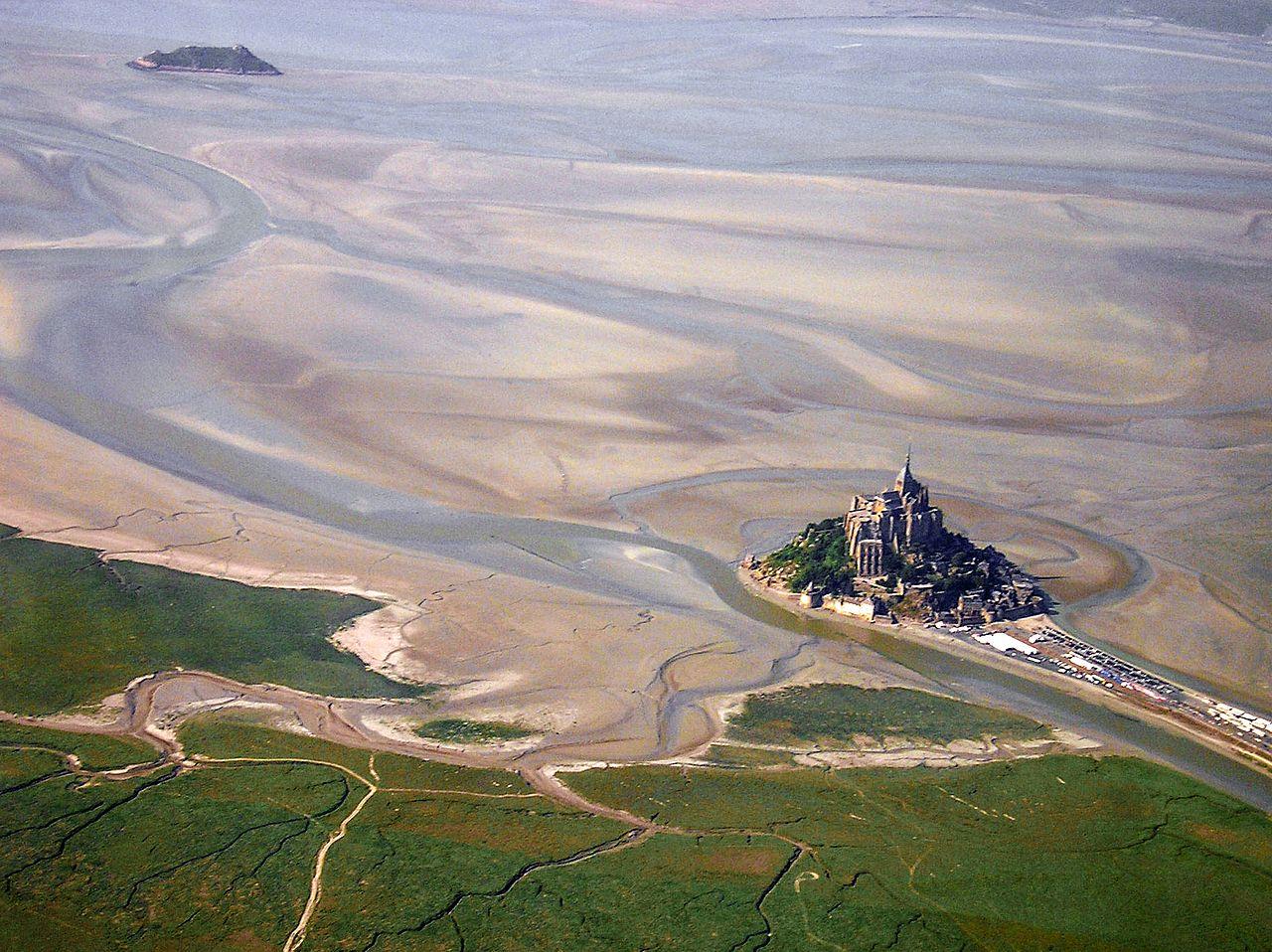 Baie du Mont St Michel, France