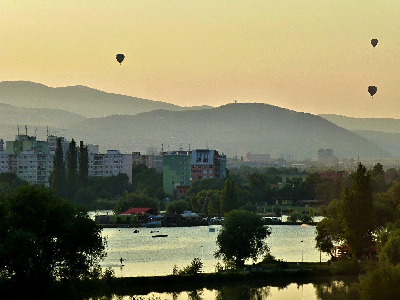 Balloon Fiesta 2015 in Kosice, Slovakia