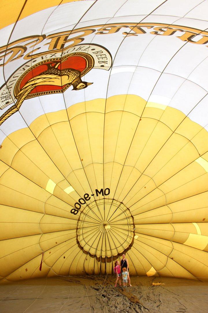 Balloon Fiesta 2018 in Kosice, Slovakia – Walk-in the balloon
