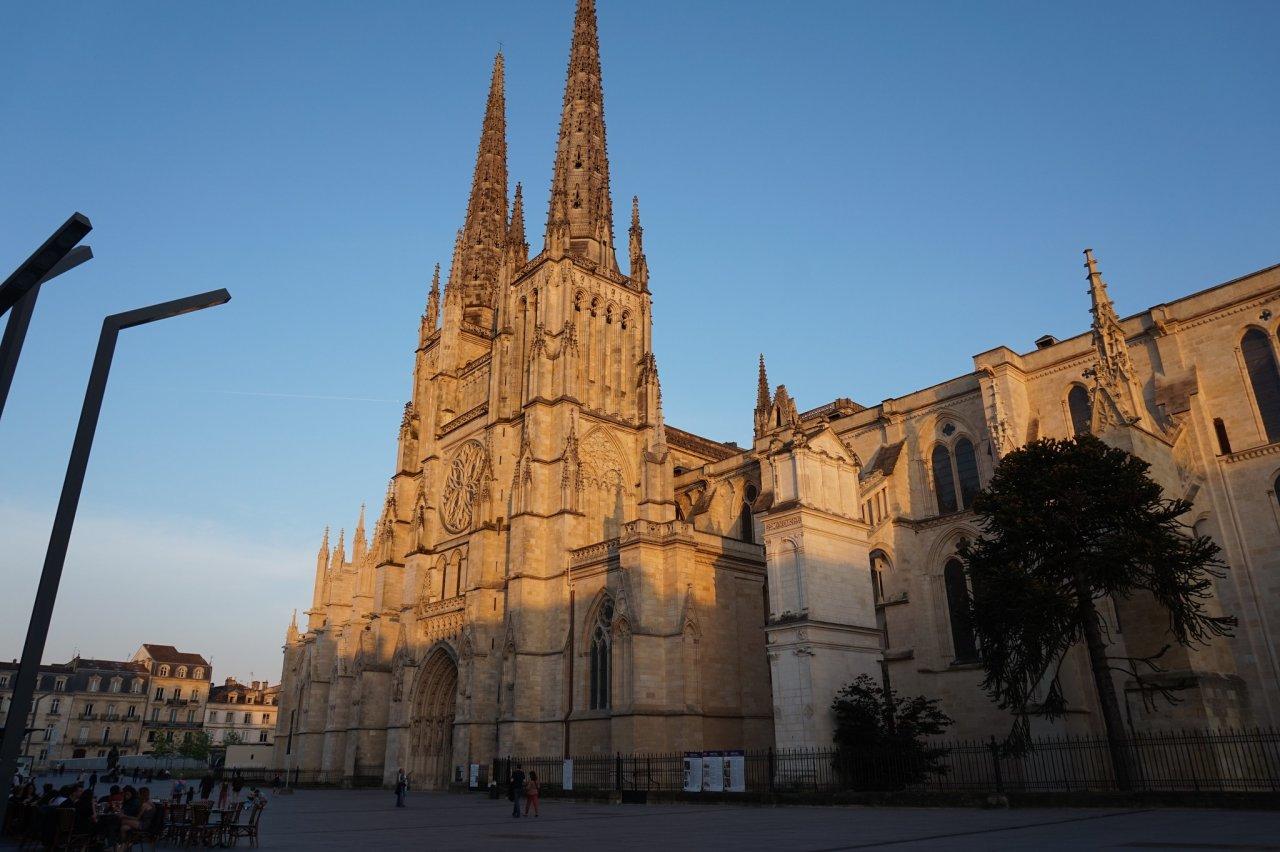 Bordeaux Cathedral, Bordeaux, France