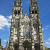 Cathedral of Saint-Gatian in Tours, Cities in France