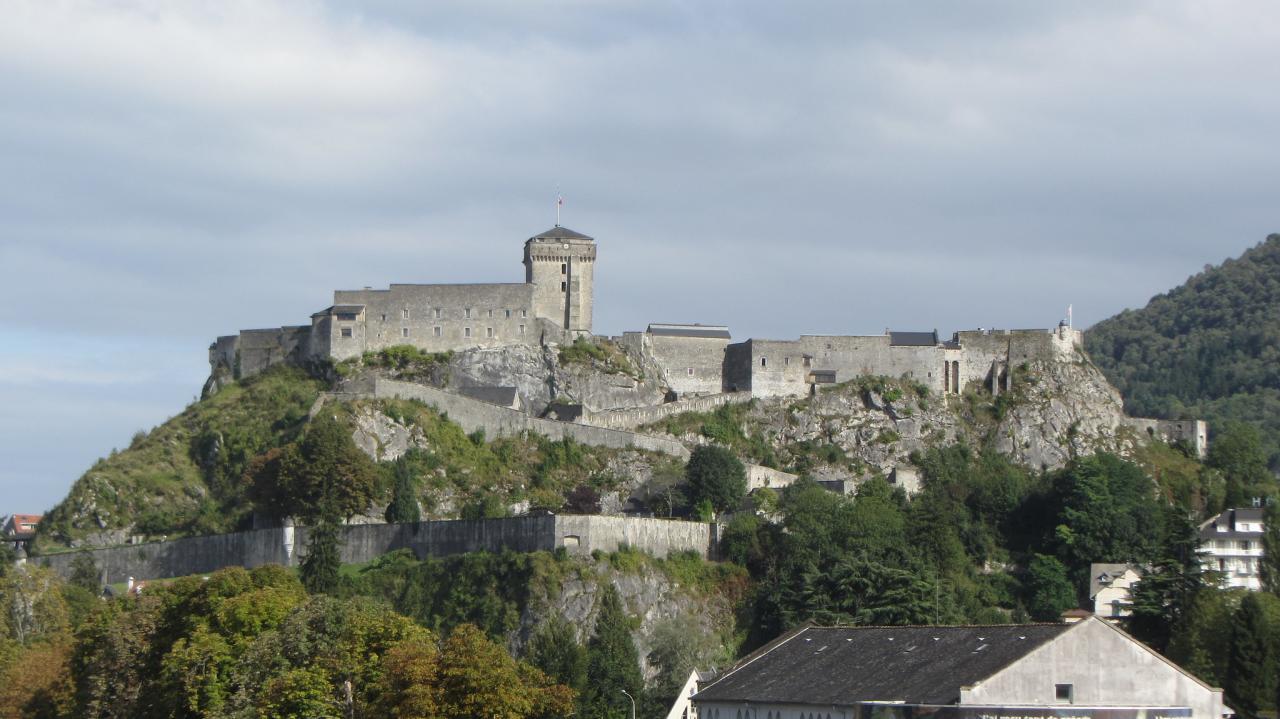 Château fort de Lourdes, Lourdes, France