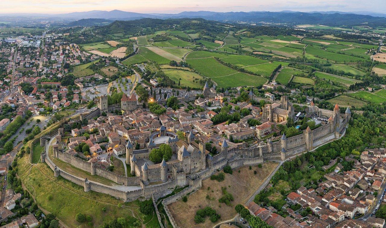 Cité de Carcassonne, Carcassonne, France