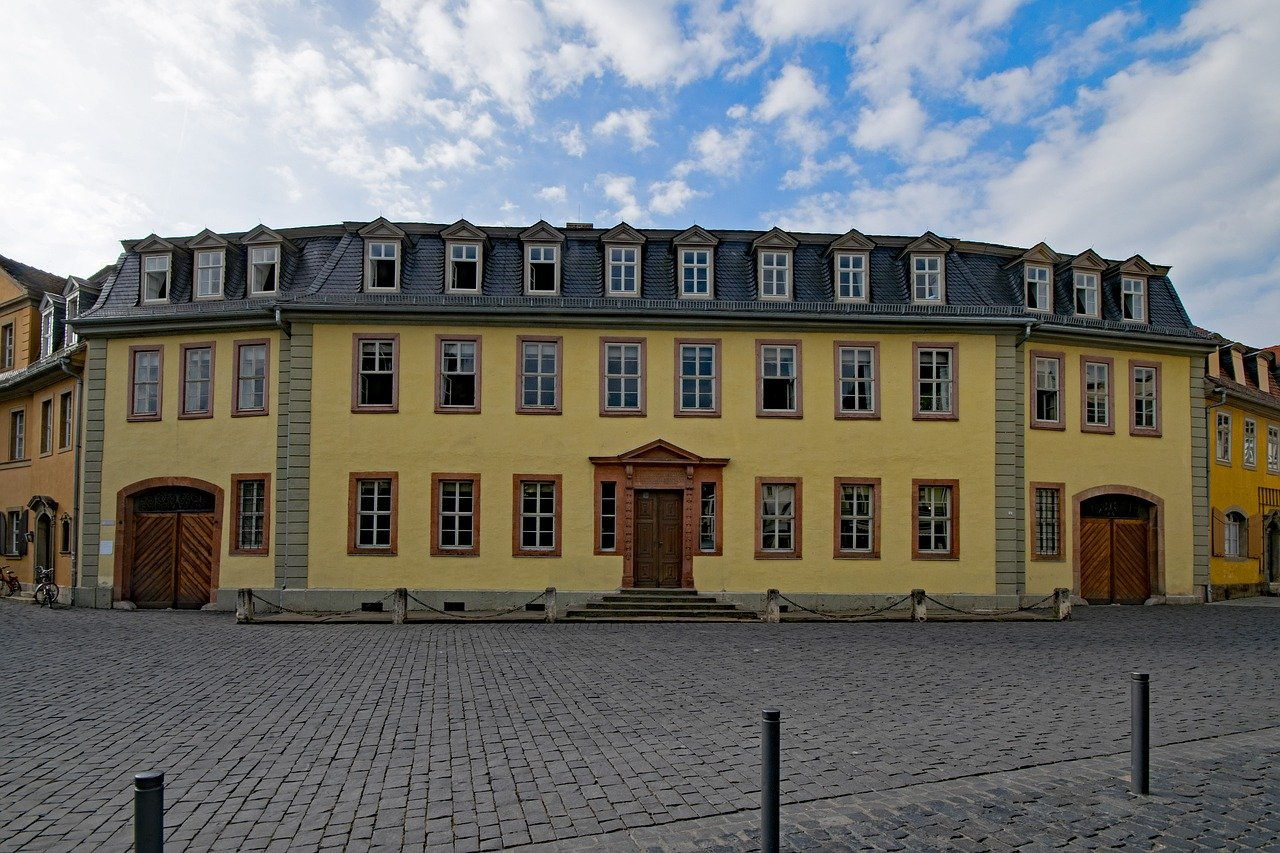 Geothe House, Weimar, Cities in Germany