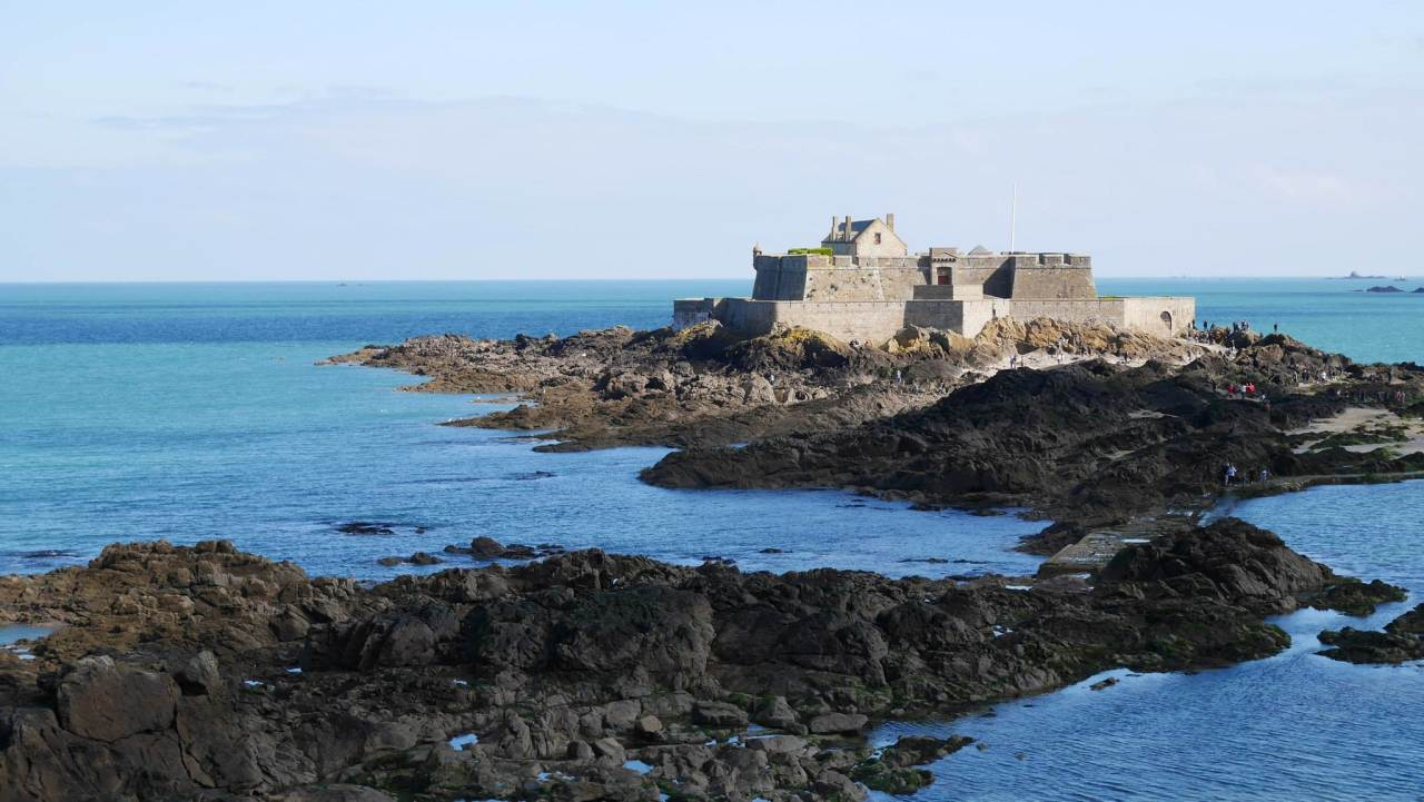 Grand Bé, Saint-Malo, France
