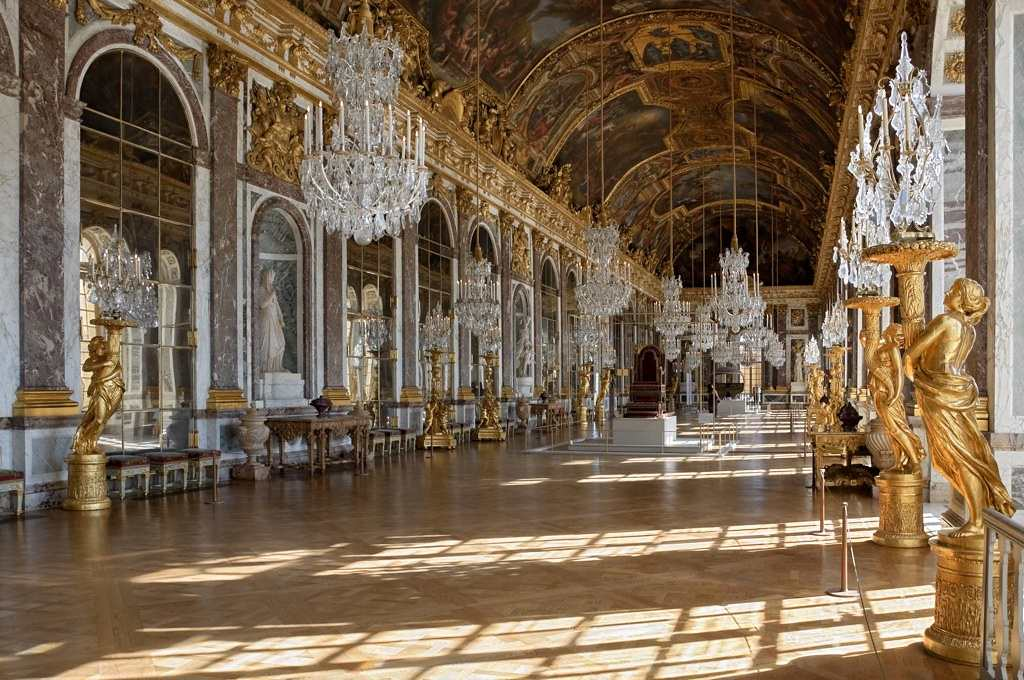 Hall of Mirrors, Versailles, France