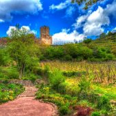 Kaysersberg castle, Cities in France