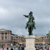 Loui XIV's palace, Versailles, Cities in France