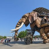Machines of the Isle of Nantes, France