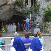 Massabielle Grotto, Lourdes, France