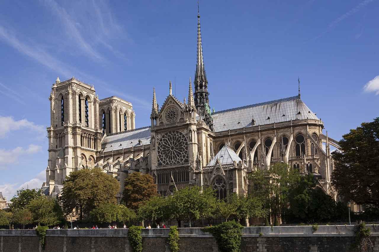 Notre-Dame Cathedral (Cathedrale de Notre Dame de Paris), Paris, France