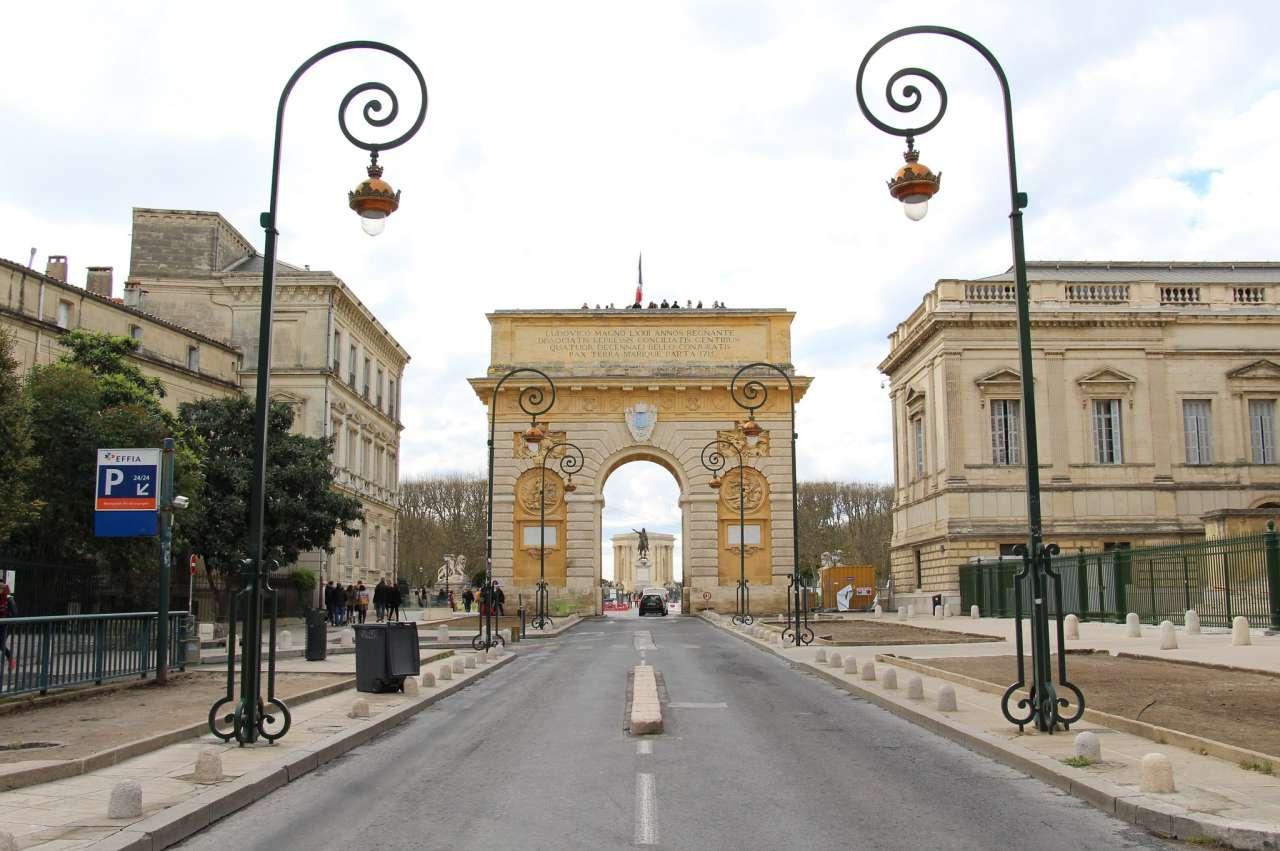 Porte du Peyrou, Montpellier, France