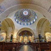 Rosary Basilica, Lourdes, France