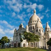 Sacred Heart Basilica of Montmartre (Sacre-Coeur), Paris, France