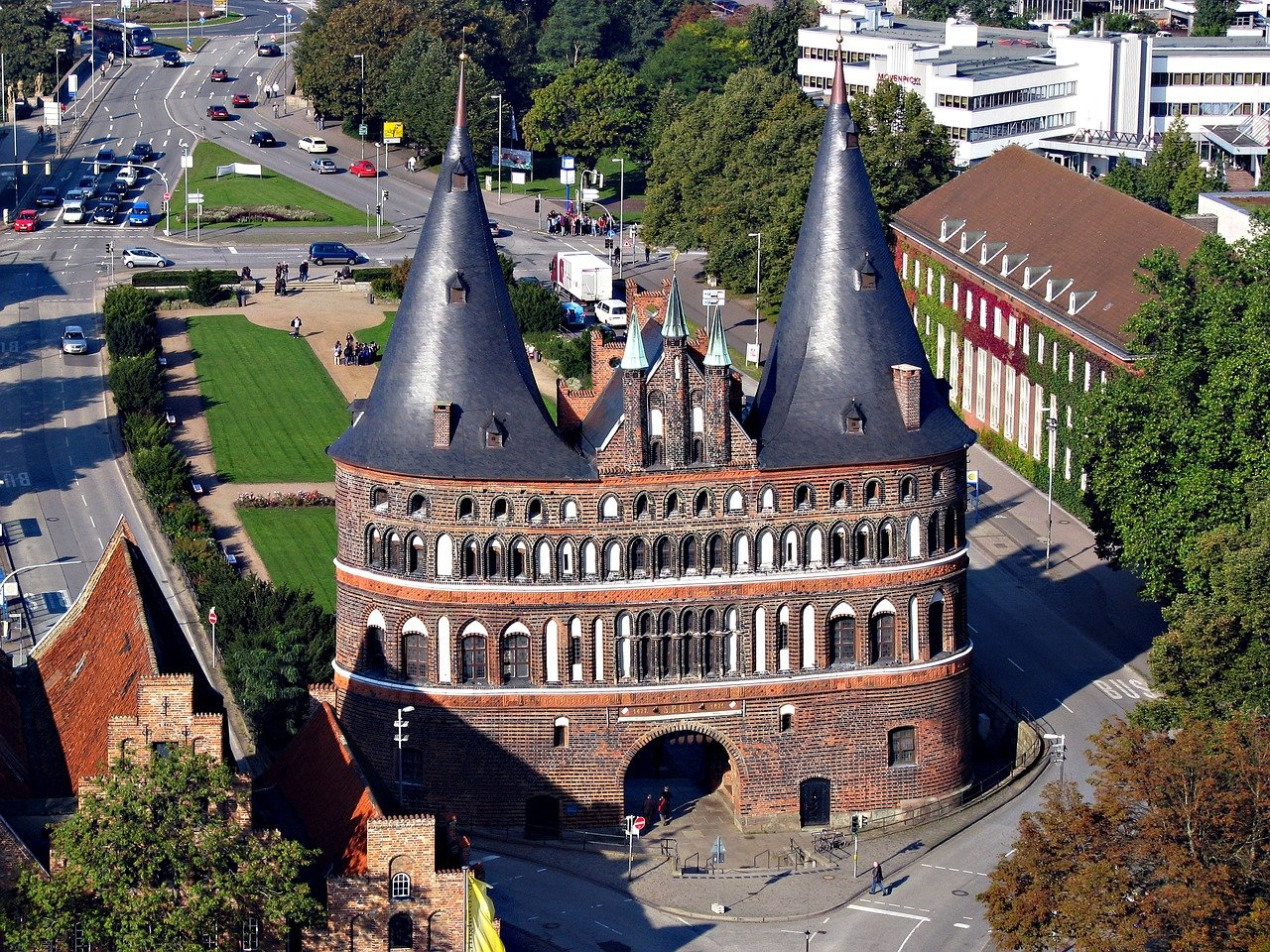 The Holsten Gate, Lubeck, Cities in Germany