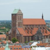The St. Nicholas' church,Wismar, Cities in Germany