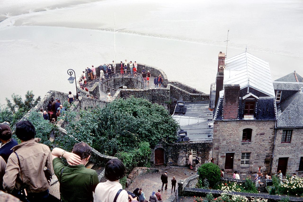 Tour du Nord, Mont St Michel, France