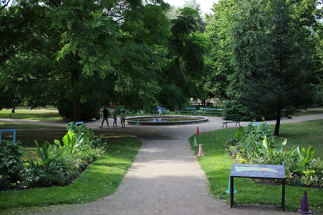 Tours Botanical Garden, France