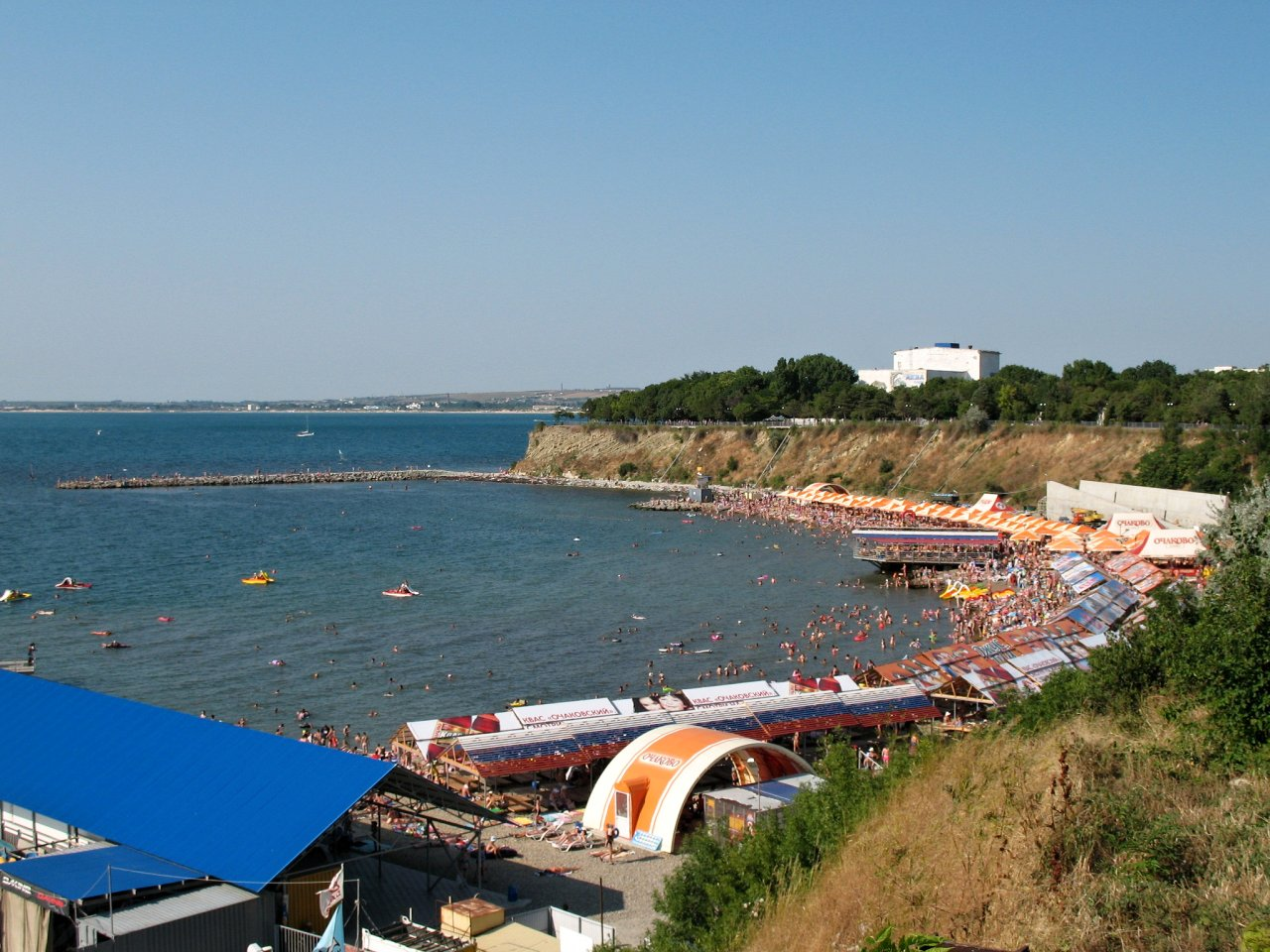 Anapa, beach, Best places to visit in Russia