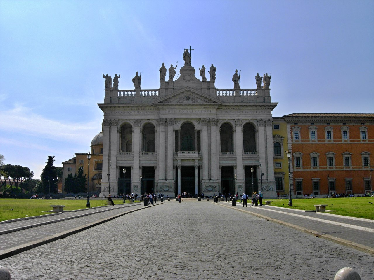 Basilica di San Giovanni in Laterano, Rome Attractions, Best Places to visit in Rome, Italy