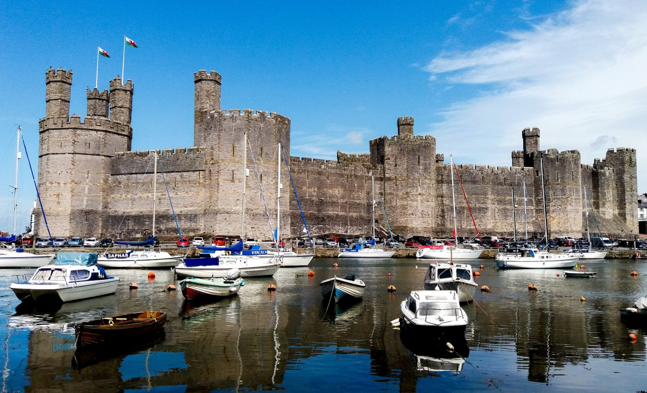 Caernarfon Castle, Wales, Best places to visit in the UK