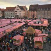 Christkindlesmarkt Christmas market, Nuremberg, Germany