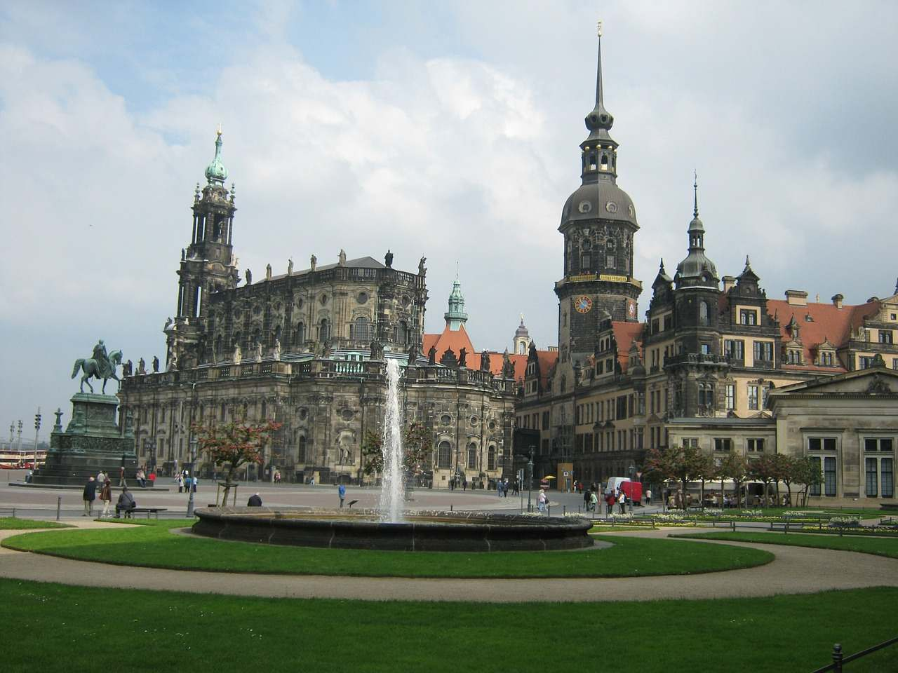 Dresden Cathedral, Germany