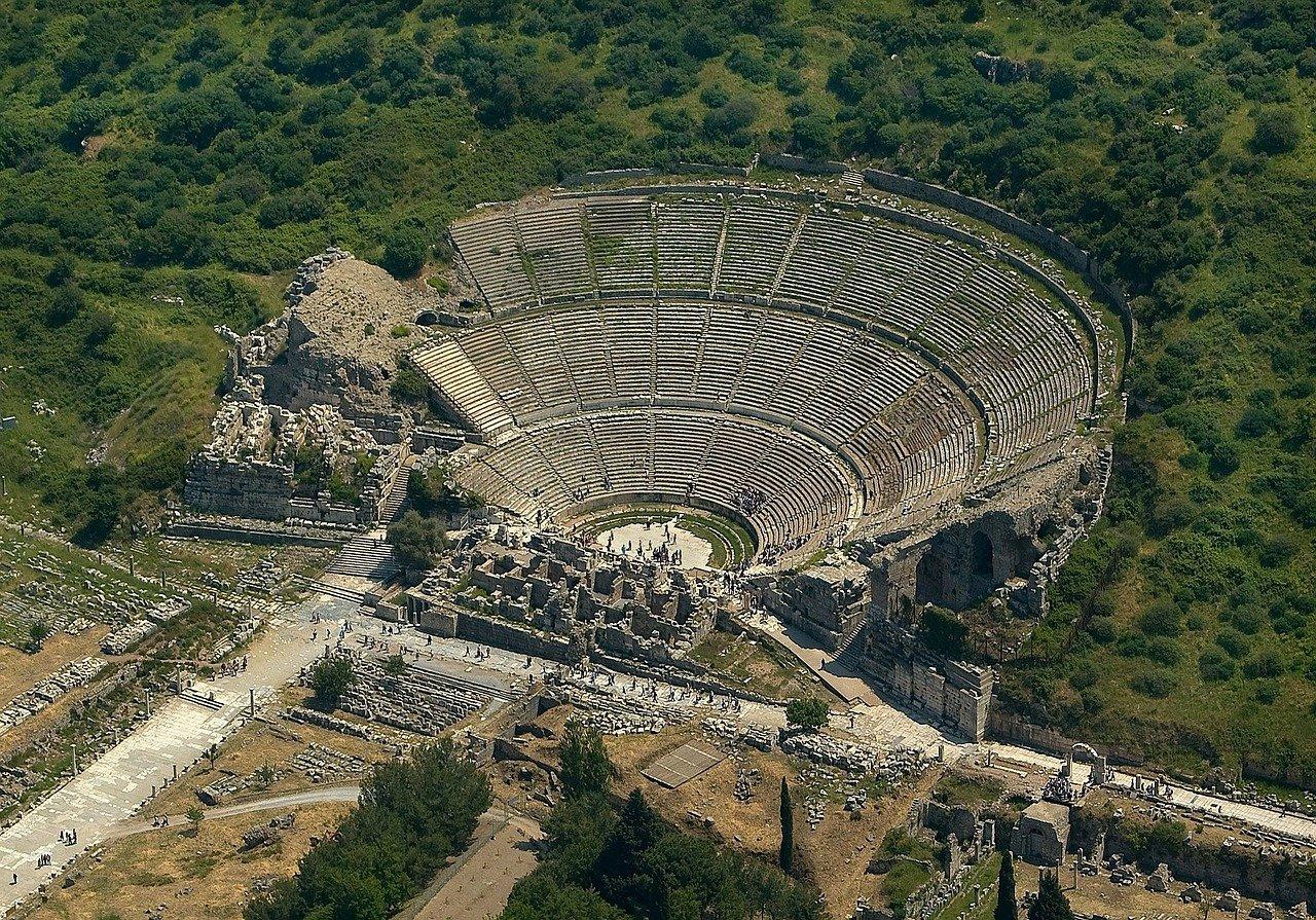 Ephesus amphitheatre, Best places to visit in Turkey