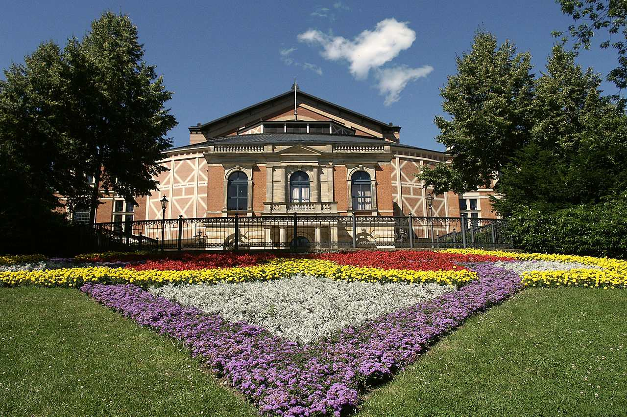Festspielhaus 'Festival Theatre', Bayreuth, Germany