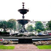 Fountain in Brighton, England, UK