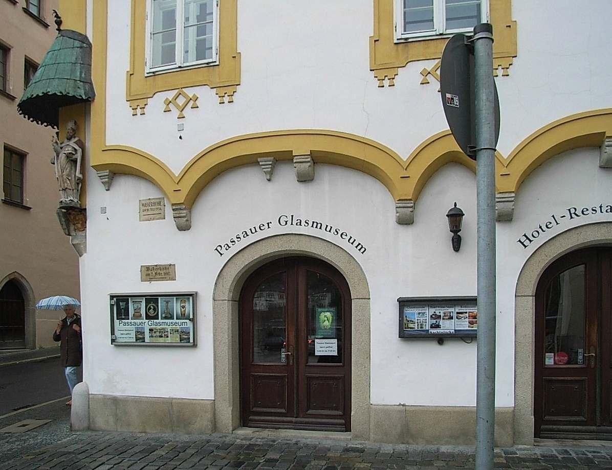 Glass museum, Passau, Germany
