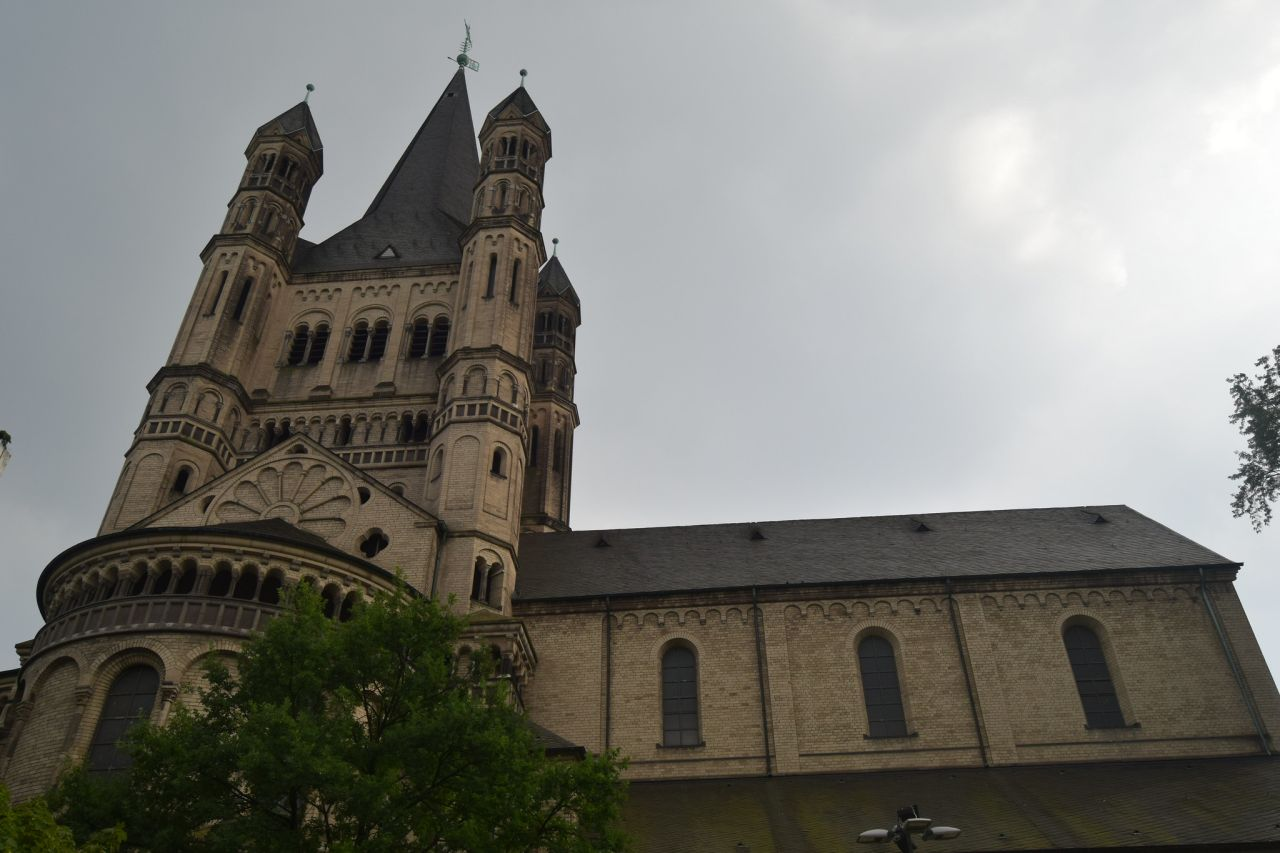 Great St. Martin Church, Cologne, Germany