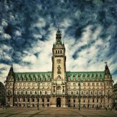 Hamburg City Hall, Hamburg, Germany