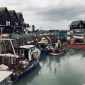 Harbour at Whitstable, England, Best places to visit in the UK