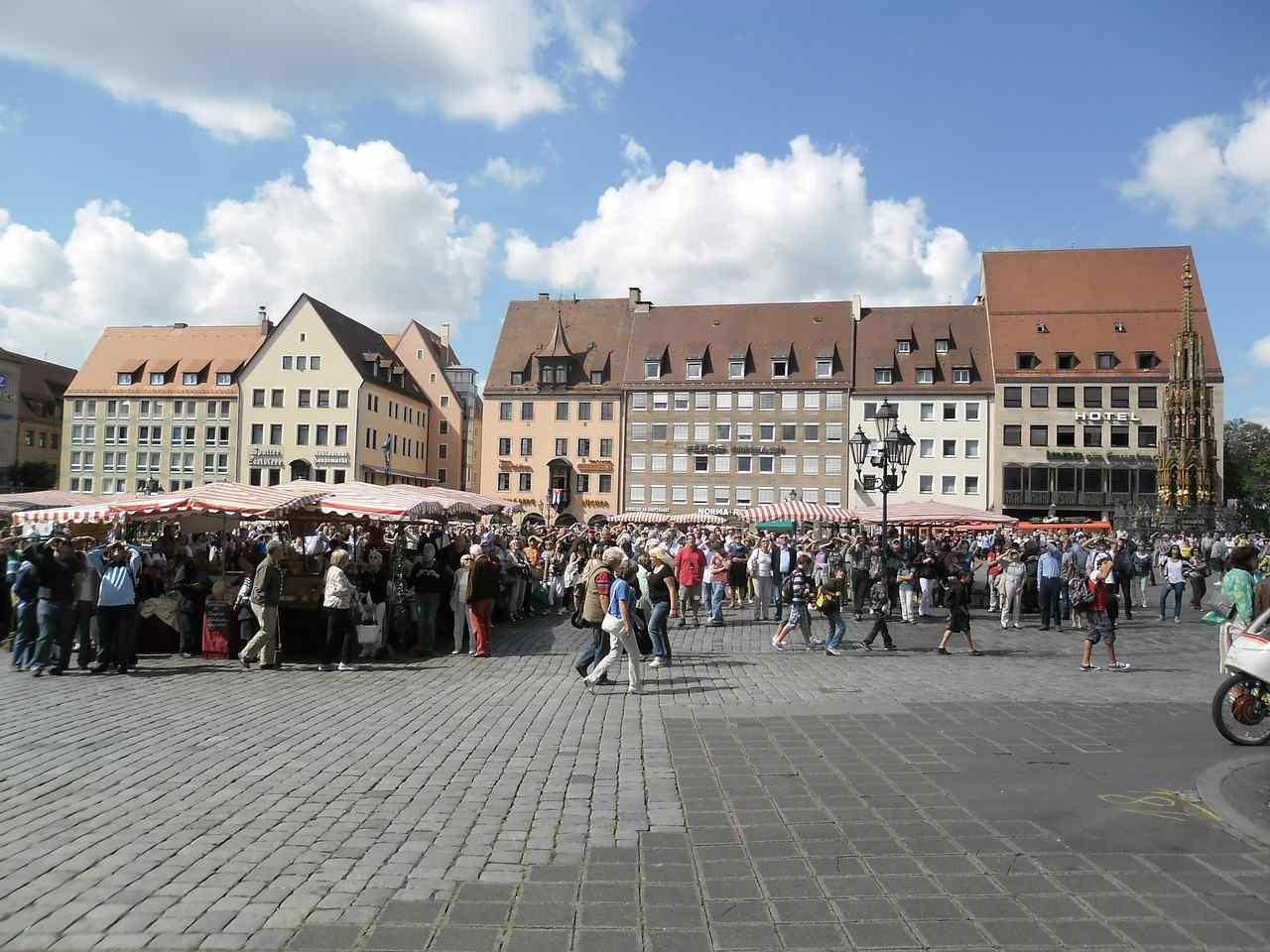 Hauptmarkt, Nuremberg, Germany