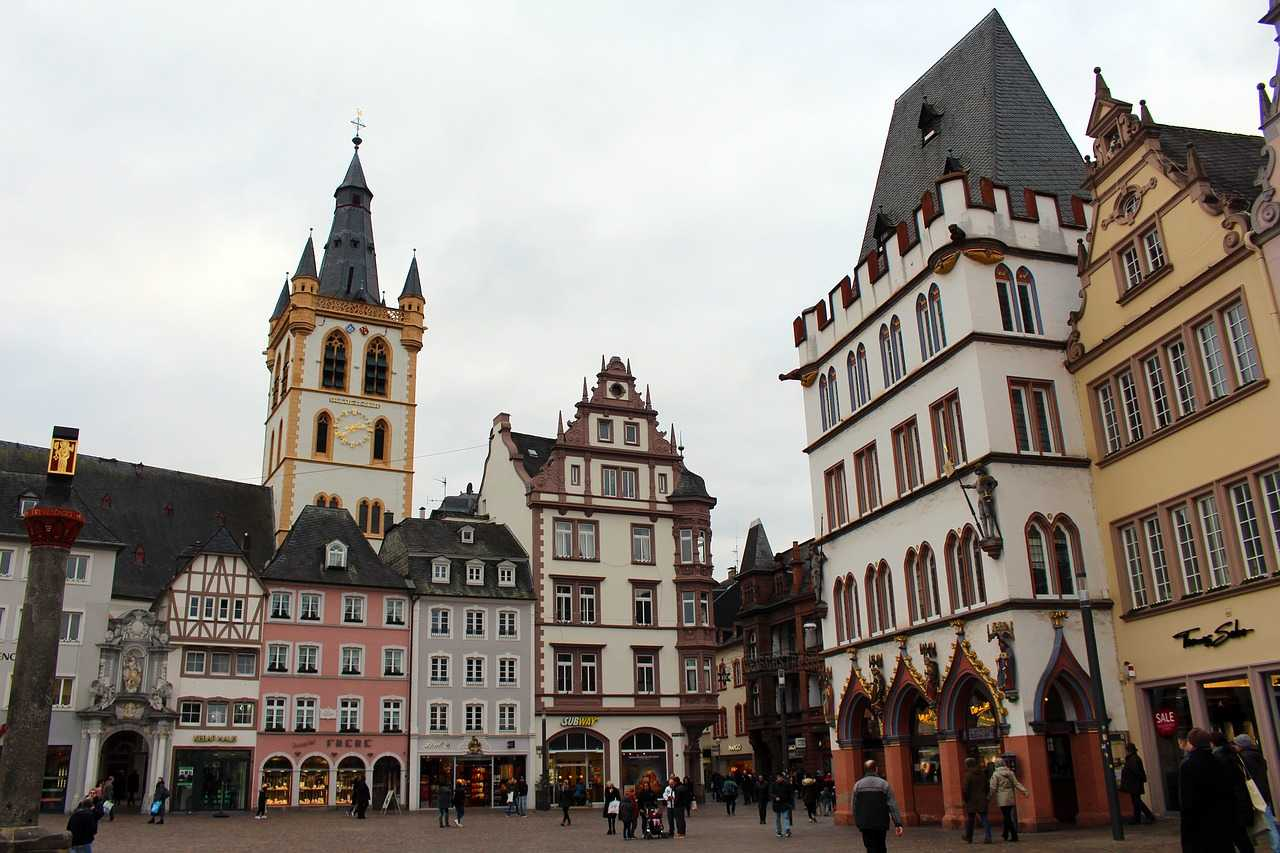 Hauptmarkt, Trier, Germany
