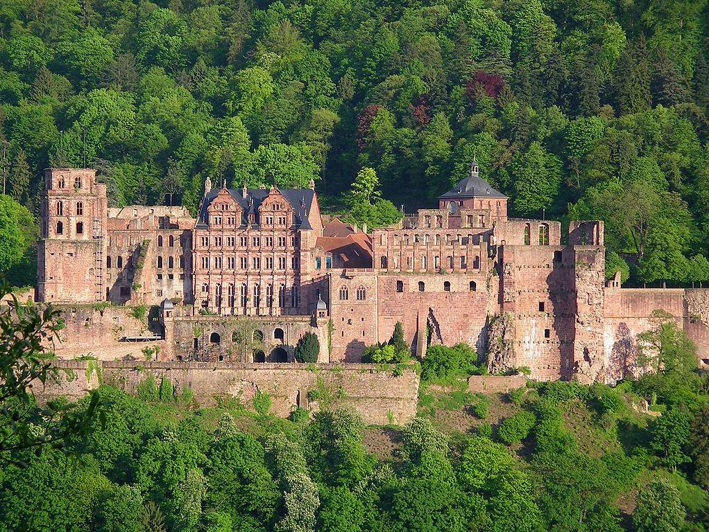 Heidelberg Castle, Cities in Germany