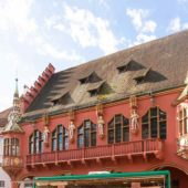 Historical Merchants' Hall, Freiburg im Breisgau, Germany