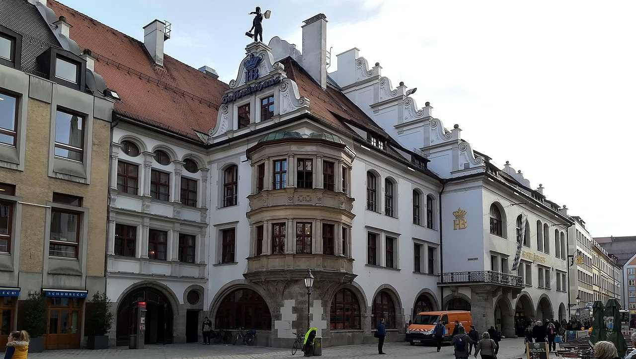 Hofbräuhaus am Platzl, Munich, Germany