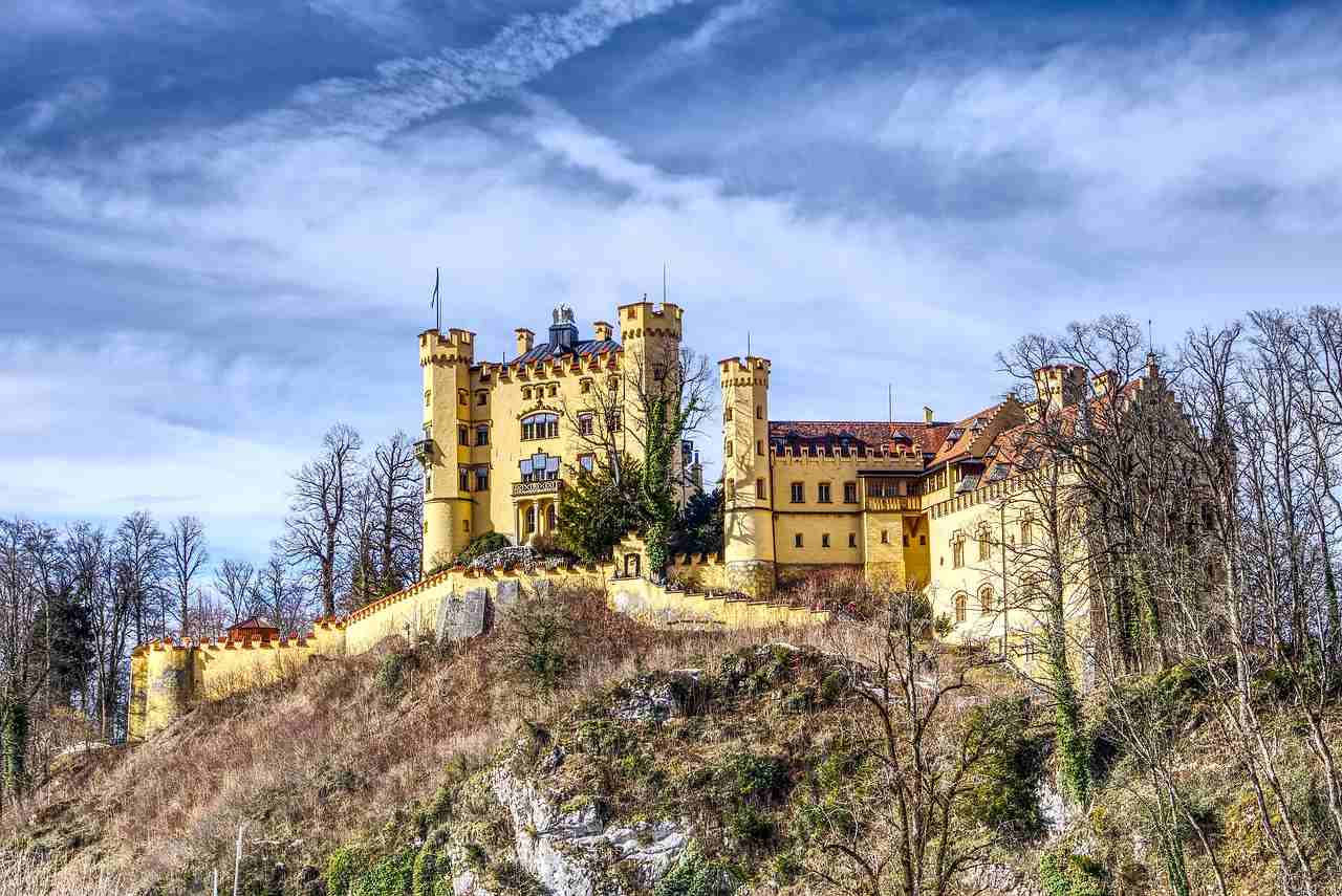 Hohenschwangau Castle, Füssen, Germany