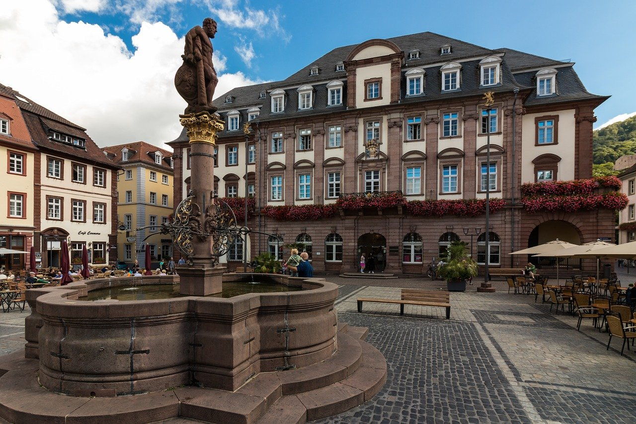 Marktplatz, Heidelberg, Cities in Germany