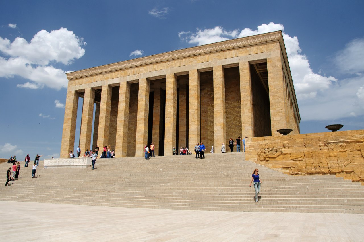 Mausoleum of Mustafa Kemal Ataturk, Anitkabir,  Best places to visit in Turkey
