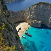 Navagio, Zakynthos, Greece Travel