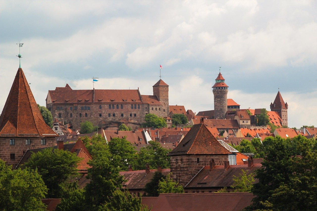 Nuremberg Castle, Cities in Germany