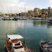 Old Harbor in Heraklion, Greece Travel
