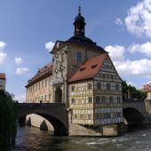 Old town hall (Altes Rathaus) in Bamberg, Cities in Germany